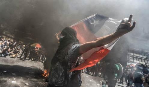 Chile: Un año después la revuelta contra Piñera sigue siendo masiva