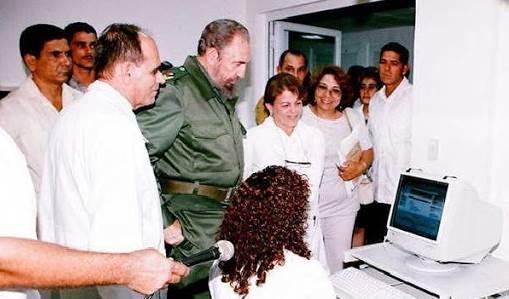 Fidel, padre e inspirador del sistema científico cubano