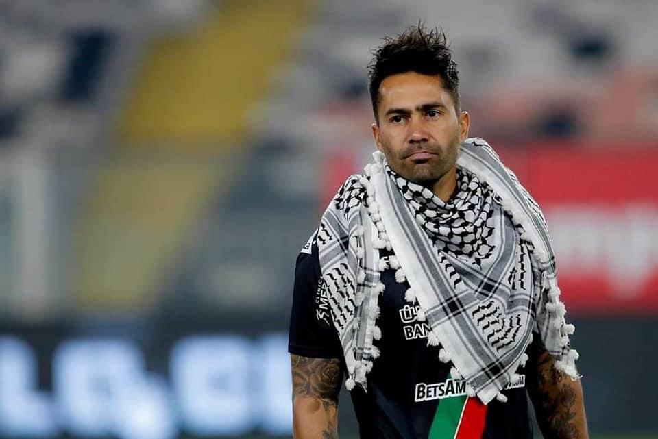 """Gesto solidario del equipo chileno """"Palestino"""" hacia Al Quds"""