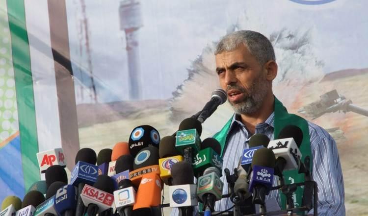 Yahya Sinwar, jefe del movimiento Hamas en Gaza.